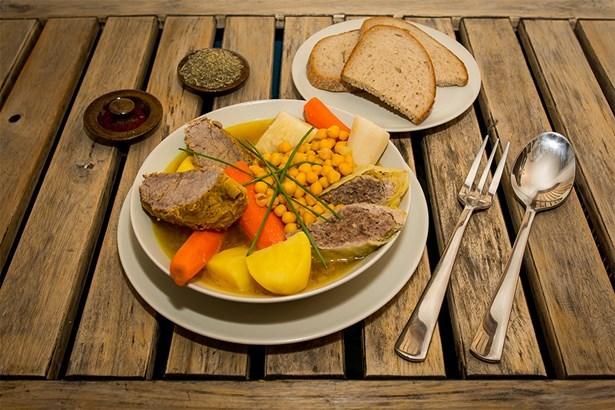 Puchero - španělská polévka o 3 chodech