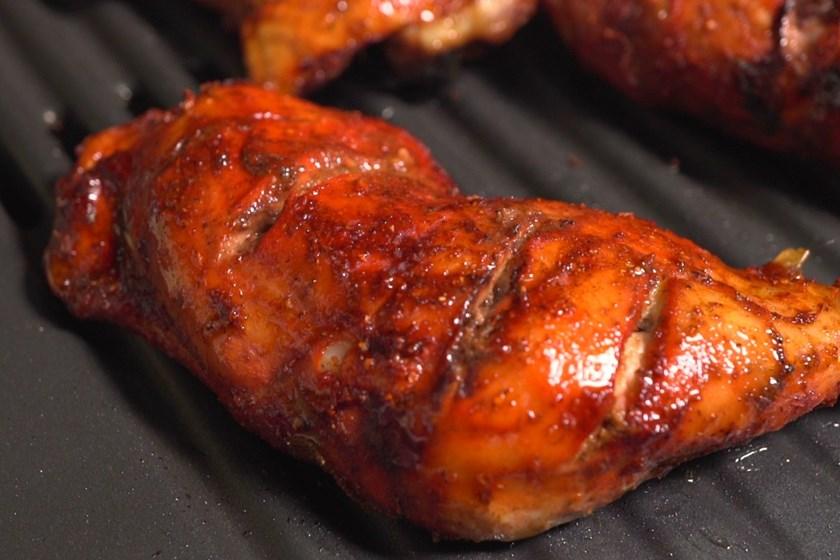 Jednoduché kuřecí tandori paličky