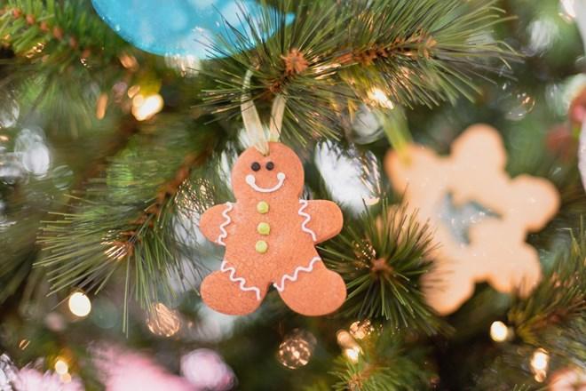 Vánoční perníkové ozdoby