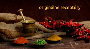 originálne receptury